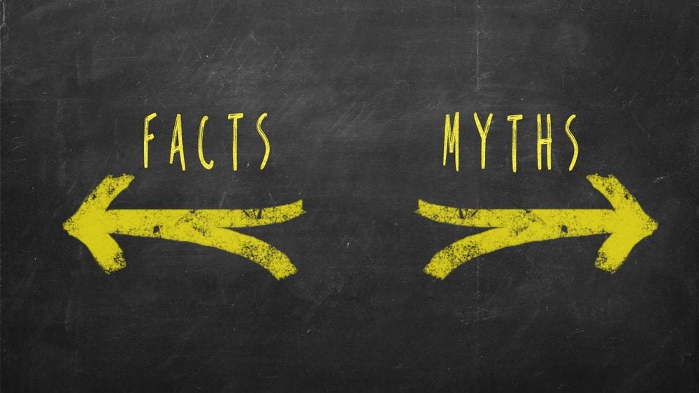 Los falsos mitos nutricionales nos pueden llevar a tener una dieta que nos aleja de nuestros objetivos
