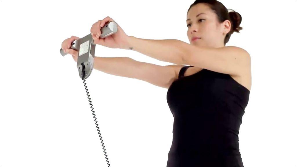 Medición de grasa corporal en bascula profesional